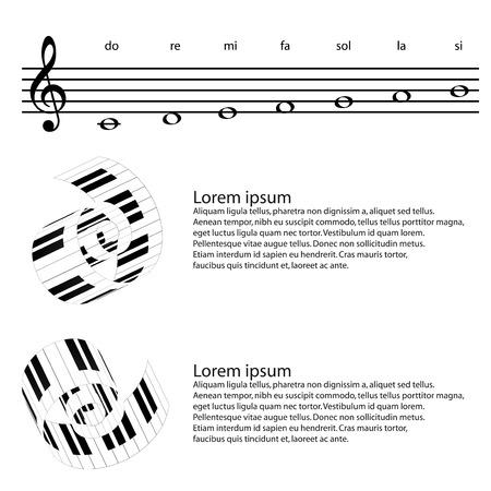forte: piano keys