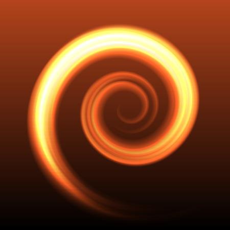 Antecedentes espiral de color abstracto Ilustración de vector