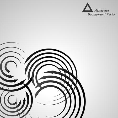espiral: Fondo espiral abstracto Vectores