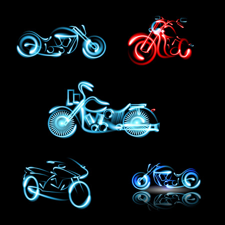 article icon: motorbike set