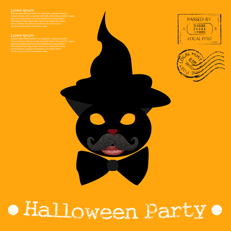 article of clothing: Halloween Illustration