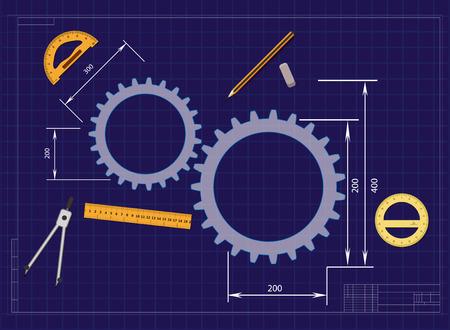 drawing gears