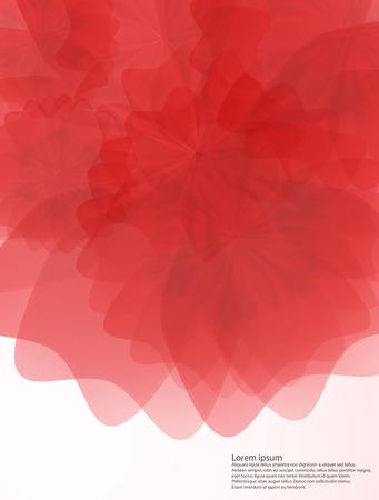 applique flower: flowers background Illustration