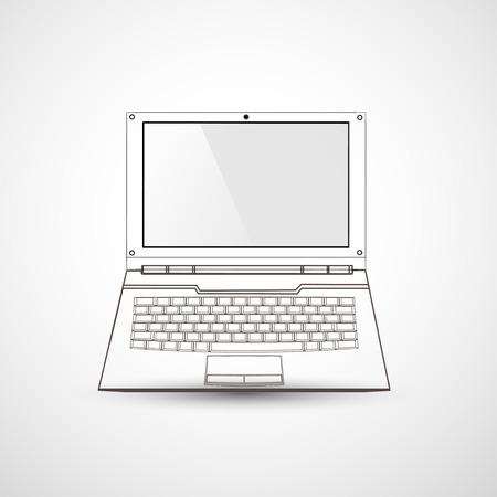 computer: computer, laptop