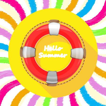 safety belts: app icon lifebuoy