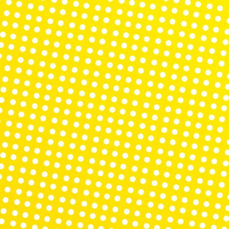 Yellow background with white circles Illustration