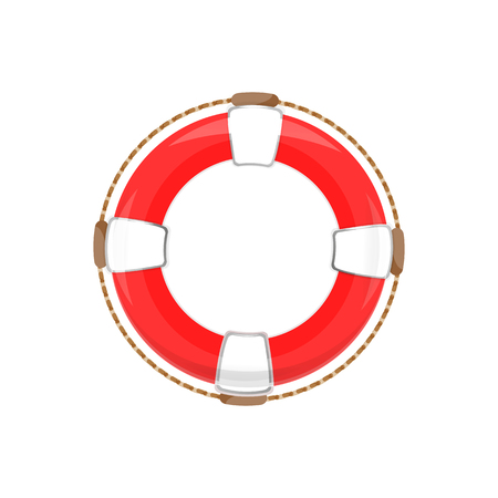 App icon lifebuoy. On white background, isolated object Illustration