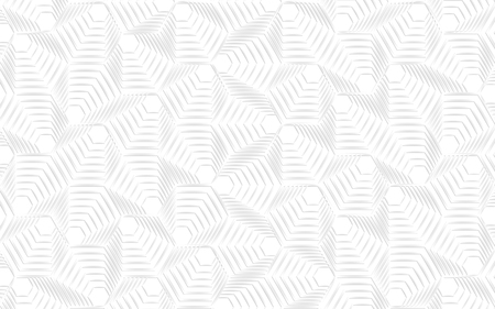 Vector modern geometry pattern hexagon, abstract geometric background, trendy print, retro texture 向量圖像