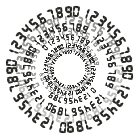 programming code: Abstract streaming binary code background. Vector illustration.