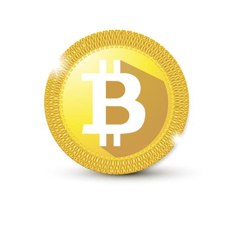 Bitcoin icon template