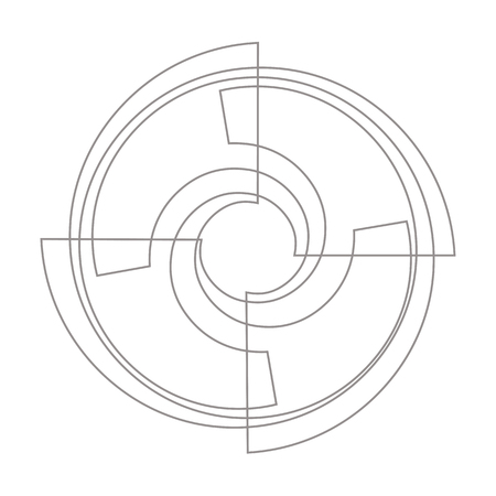 Propeller Icon Vector Simple flat symbol Illustration pictograph Иллюстрация