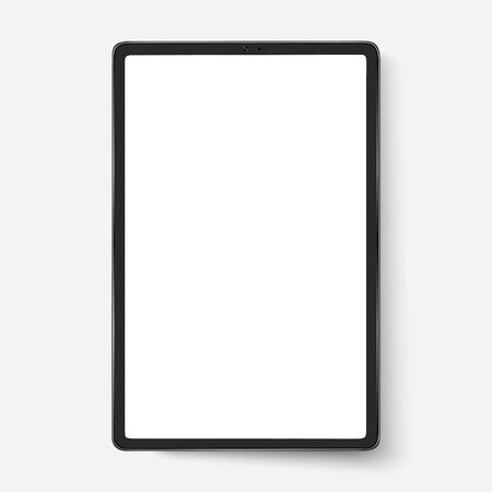Phone black smartphone on a white background