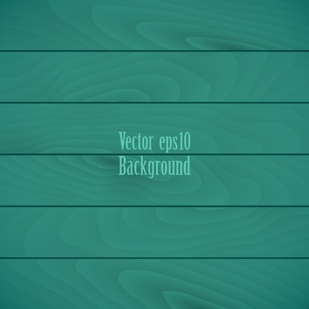 arboreal: Turquoise wooden texture background of the horizontal planks