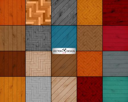parquet texture: set wooden texture background of parquet.