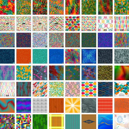 set of different colorful backgrounds. abstract vector illustration