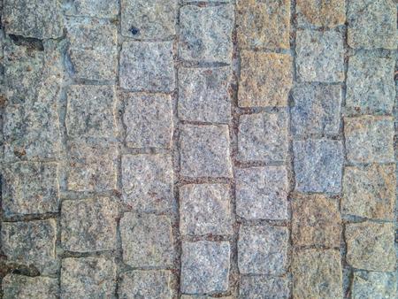 gepflasterter Deckungsboden des strukturierten Steinhintergrundes. Lagervektorillustration eps10