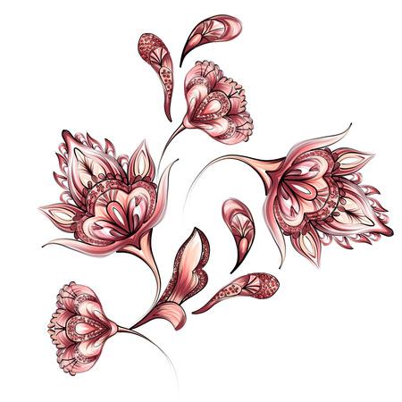 disegni cachemire: Decorativi floreali Paisley