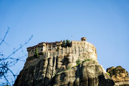Isolated Monastery in Meteora