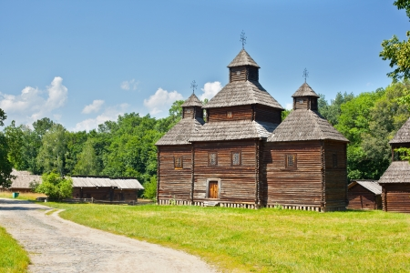 ukrainian ancient church in Pirogovo museum