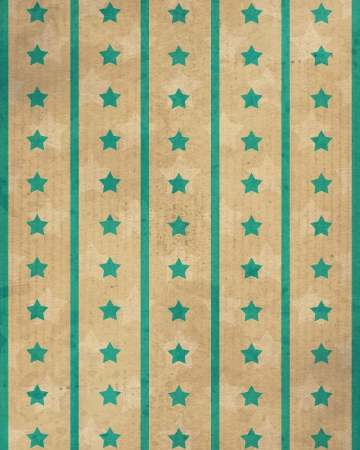 vintage background with stars and stripes photo