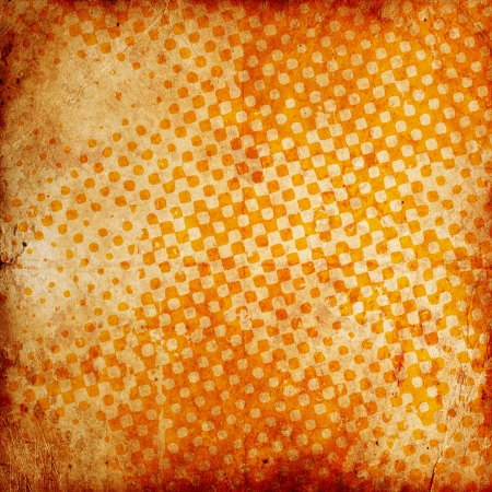 abstract grunge checkered background with scratches photo