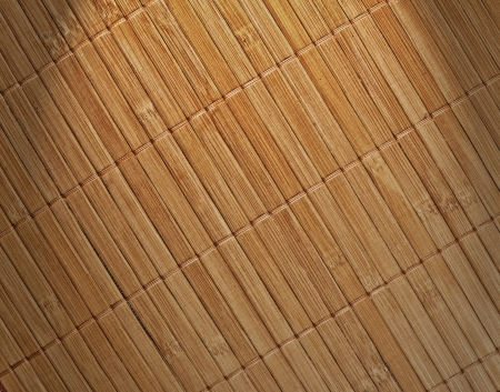 Bamboo pad background photo