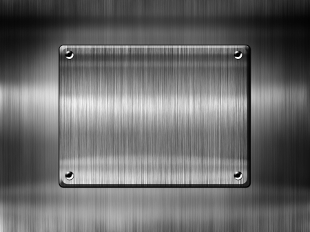 High quality metal template background Stock Photo - 14669530
