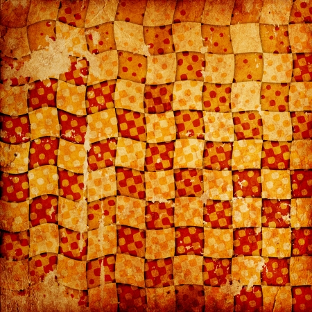vivid grunge chessboard backgound with stains Stock Photo - 14673572