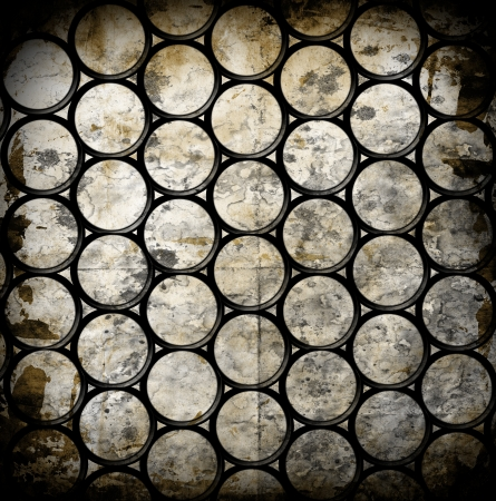 abstract grunge background with circles photo
