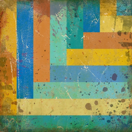 abstract vivid background with colorful lines photo