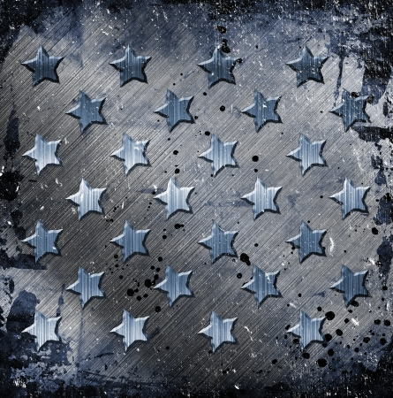 Military Grunge With Stars Stock Photo - 14669622