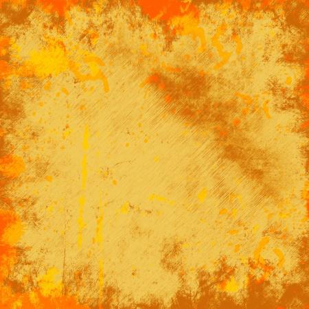 orange grunge background photo