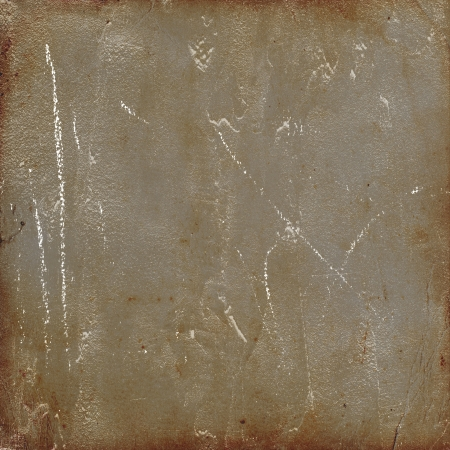 plaster mould: scratched dirty board Stock Photo