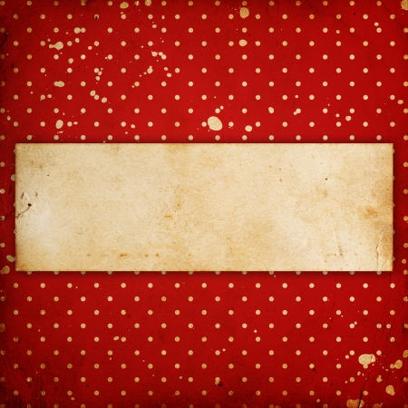 vintage dotted background with place for text photo