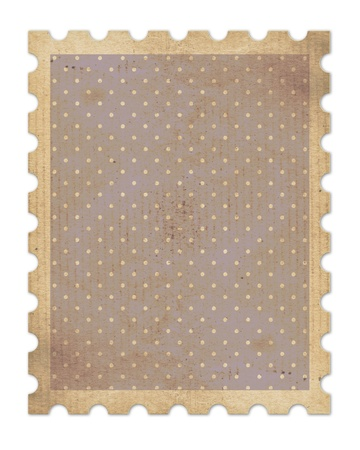 vintage stamp  photo