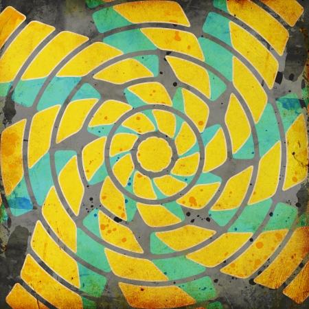 vivid background with whirligig photo