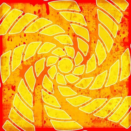 vivid background with twirl photo