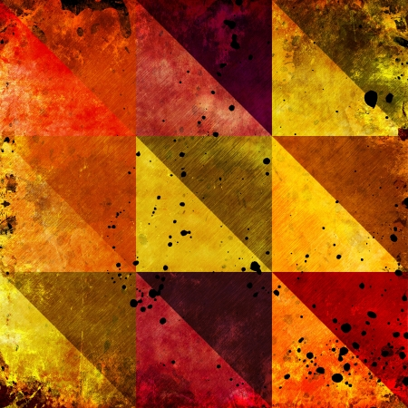 Abstract color grunge background photo