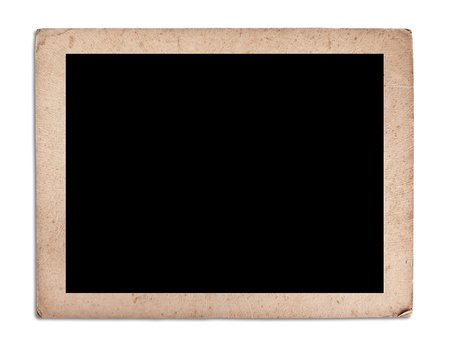 blank vintage photo frame Stock Photo - 14719191