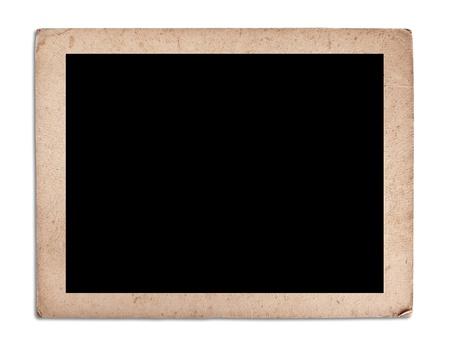 blank vintage photo frame