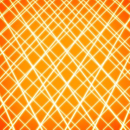 Abstract lines on grunge orange background Stock Photo - 15665590