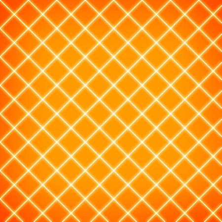 Gird on orange background photo