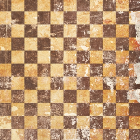 grunge chessboard backgound Stock Photo - 15666131