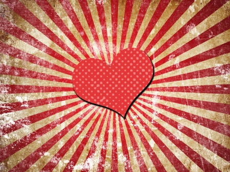 waivers: abstract grunge background with heart