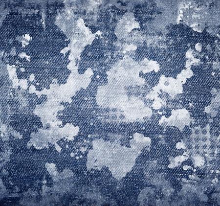 denim: pantalones vaqueros azul Foto de archivo