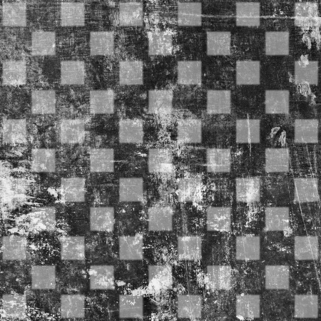 grunge chessboard backgound with stains Stock Photo - 16624869