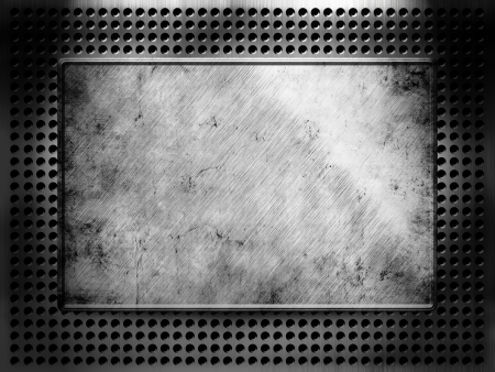 metal template background Stock Photo - 16624763