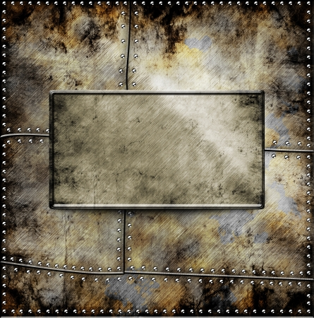 metal template background Stock Photo - 16625223