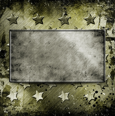 Military Grunge background with place for text photo