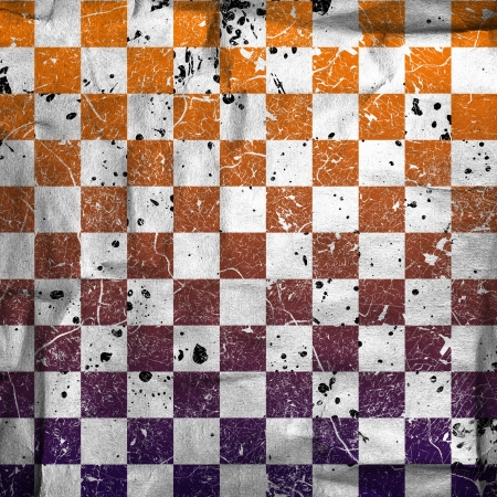 glaring: vivid grunge chessboard backgound with stains
